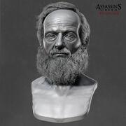 ACS John Elliotson Head Sculp 1