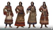 ACV - Iroquois women concept