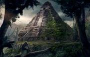 Lost-mayan-ruins concept art
