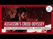 """Assassin's Creed Odyssey – Zwiastun """"Świat pełen niebezpieczeństw"""" z Gamescom 2018 – Aleksios"""