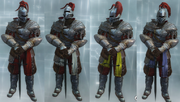 The knight colors
