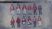 ACC India EIC Indian Soldiers Concept Sketches