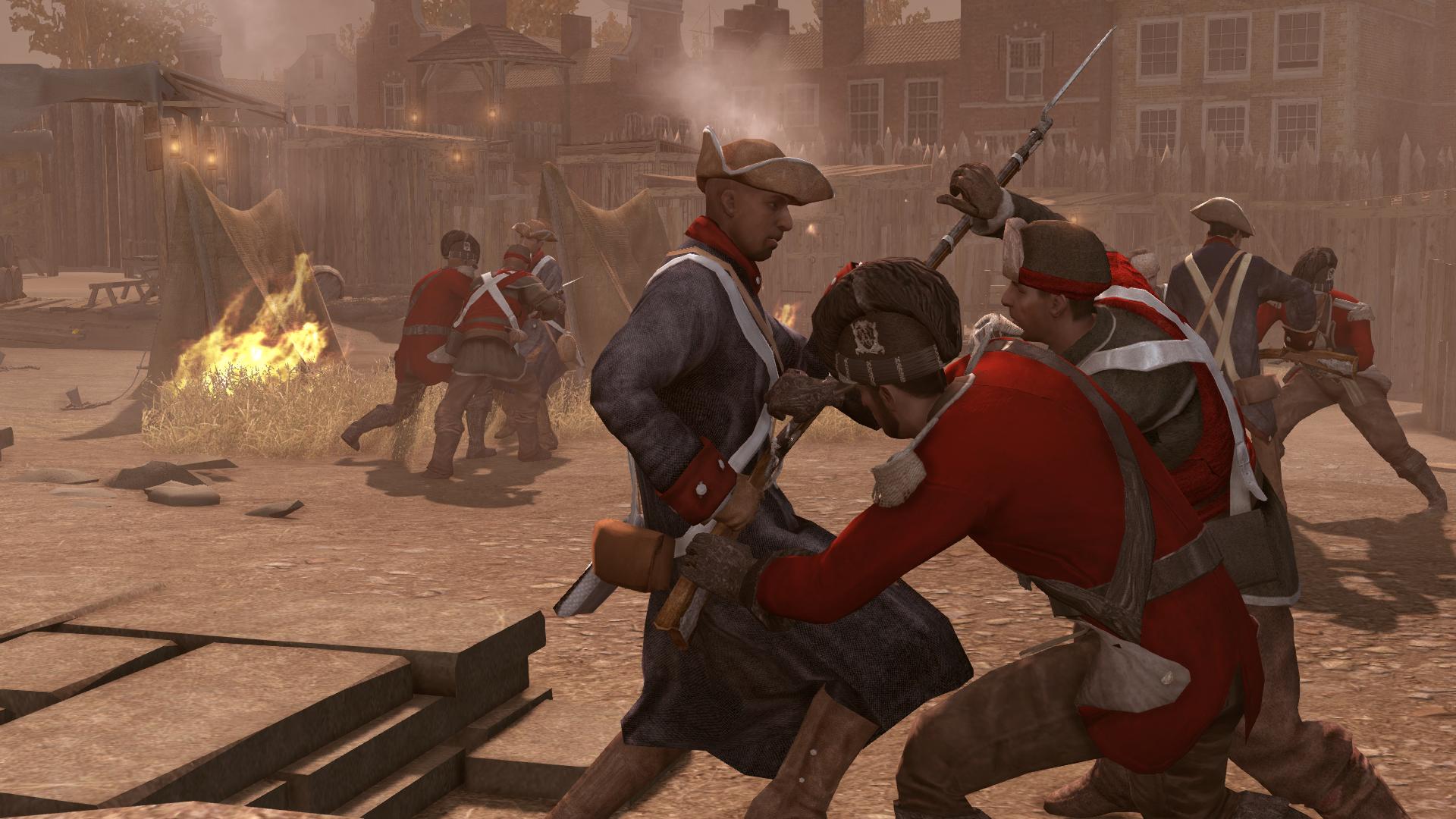 Rebellion against King Washington (alternate reality)