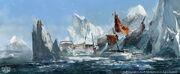 ACRG Frozen Shipwreck - Concept Art