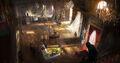ACUnity ballo palazzo del Lussemburgo concept art