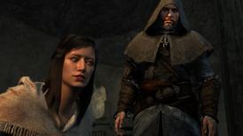 Dilara i Ezio oglądający egzekucję (by Kubar906)
