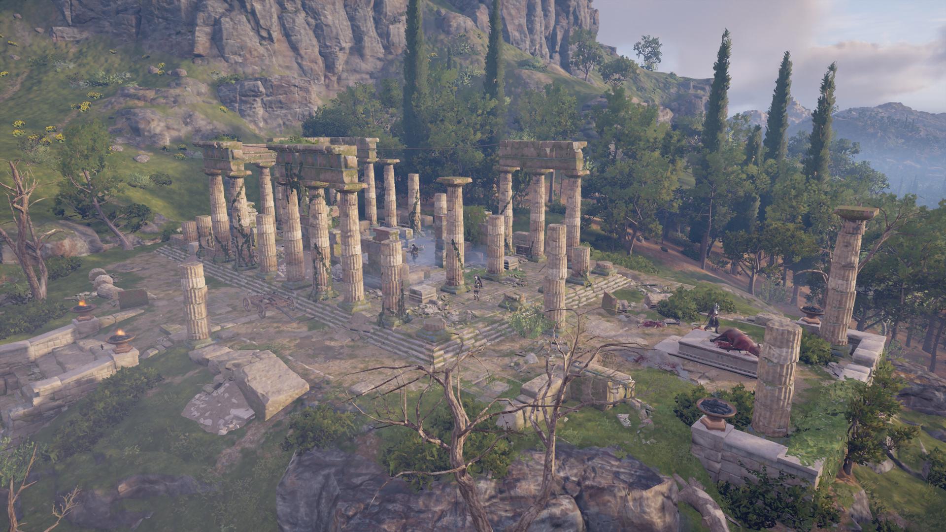 Kephisos' Sanctuary Ruins