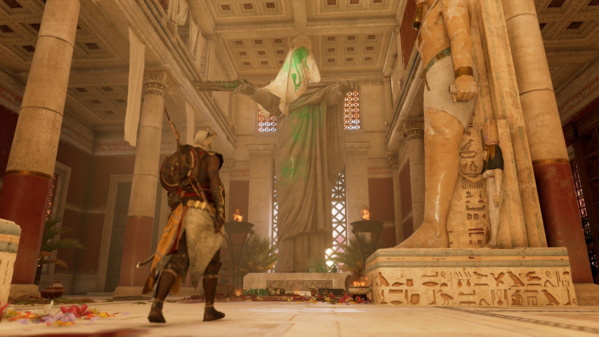 Meurtre au temple