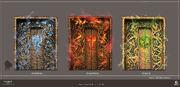 ACV Norse Realm Doors - Concept Art