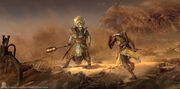 ACO CotP Bayek Ramesses II Fight - Sabin Boykinov