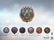 ACID Assassin Ranks Badges Concept