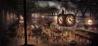 ACS Waterloo Station - Concept Art