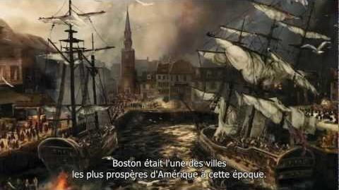 Assassin's Creed 3 - Trailer Boston Tea Party FR