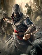 ACR Wallpaper Ezio Altair Combat