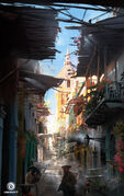 Assassin's Creed IV Black Flag Havana alley by Donglu