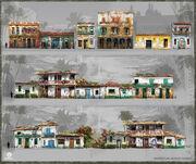 Assassin's Creed IV Black Flag Havana city block set by Donglu