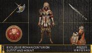 Pack Centurion romain contenu