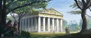 ACO Temple of Zeus - Concept Art 2