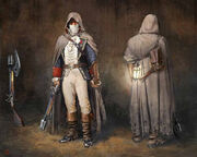 ACU DK Guard of Franciade Outfit - Concept Art
