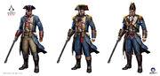 ACRG Shay Naval Uniforms - Concept Art