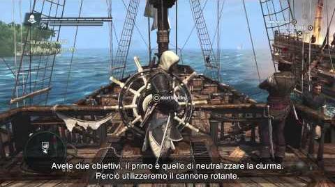 Video Gameplay di Esplorazione Navale - Assassin's Creed IV Black Flag IT