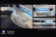 ACIV Abstergo Entertainment Réception concept
