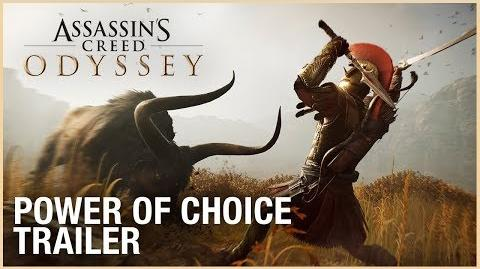 Assassin's Creed Odyssey Power of Choice Trailer Ubisoft NA