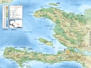 Haiti topographic map-fr