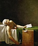 Jacques-Louis David - La Mort de Marat-1-