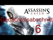 Assassin's Creed 1 - Gedächtnisabschnitt 6