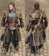 ACRG Versailles outfit