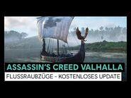 Assassin's Creed Valhalla- Flussraubzüge - kostenloses Update