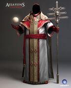 AC2 - Pope Rodrigo Borgia model