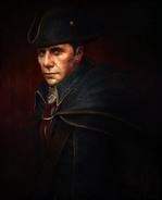 ACIII Haytham Kenway portrait peinture