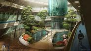 ACIV Abstergo Entertainment Ascenseur concept