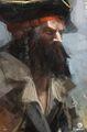 ACIV Pirate barbu concept