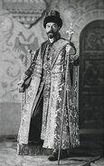 Nicola II di Russia con Bastone