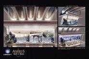ACIV Abstergo Entertainment Lobby concept