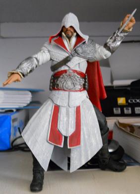 Aegis Runestone/My Ezio Figure...
