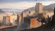 ACO Citadel Nile - Concept Art