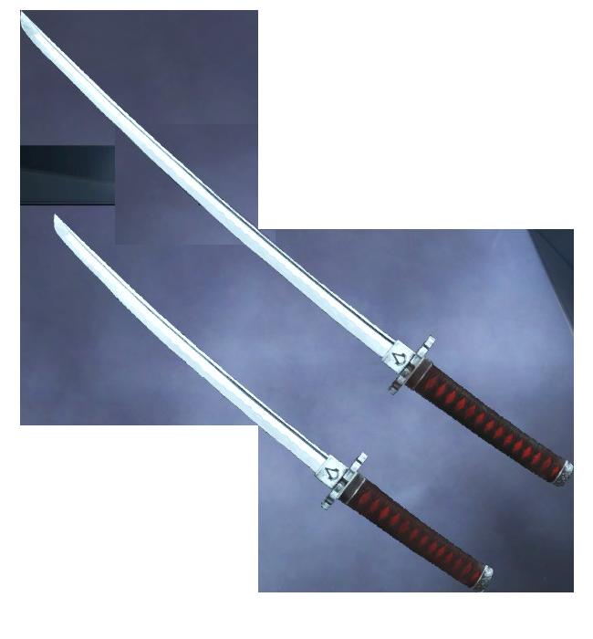 Katana and Wakizashi