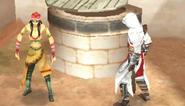 Altaïr parla con Fajera