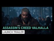 ASSASSIN'S CREED VALHALLA- LAUNCH TRAILER