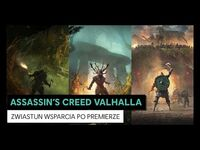 Assassin's Creed Valhalla – Zwiastun wsparcia po premierze