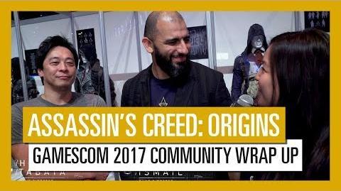 Assassin's Creed Origins Gamescom 2017 Community Wrap Up