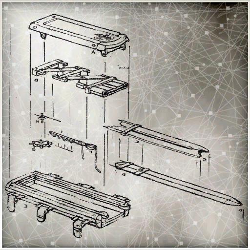 Schema dei componenti della Lama Celata