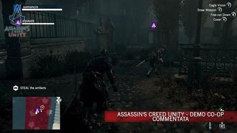 Assassin's Creed Unity - Demo co-op commentata IT