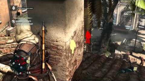 Démo de gameplay - Furtivité & Assassinat Assassin's Creed IV Black Flag FR