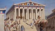 DTAG - Contemporary painting of the Parthenon