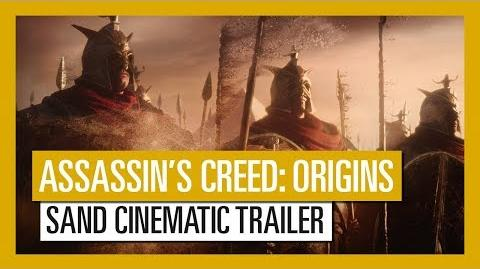 Assassin's Creed Origins From Sand Cinematic Trailer